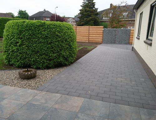 Renovatie achtertuin + oprit