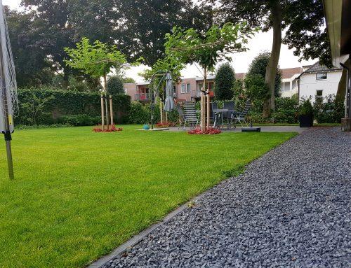 Aanleg voor- en achtertuin